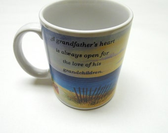 Grandfather Coffee Cup Grandchildren Mug Grandpa