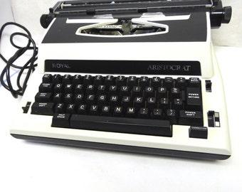 Royal Aristocrat Electric Typewriter