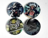 3inch Comic Magnet Featuring Alien and Predator