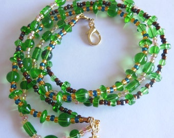 Do you  love the Green ? Necklace 762