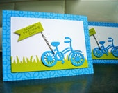Father's Day Card, Dad's Day Card, Bicycle Card