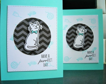 Cat Birthday Card for Him, Kitty Card, Cat Lover Card, Cat Card for Guy