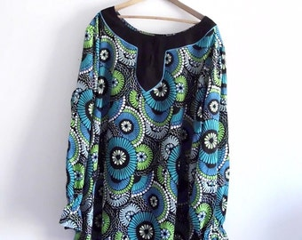 Sale 30% off Vintage With Tag Bob Mackie Wearable Art Silk Plus Size