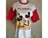 SALE Vintage Mickey Mouse Florida T-Shirt