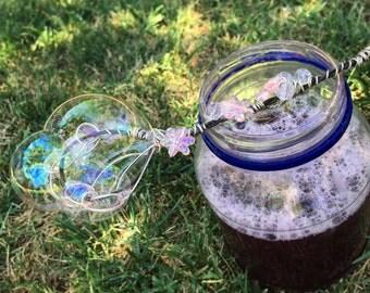 Fairy Princess Magic Bubble Wand