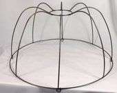 Lamp Shade Frame Large for Pendant Custom Lampshade Hand Made in NYC