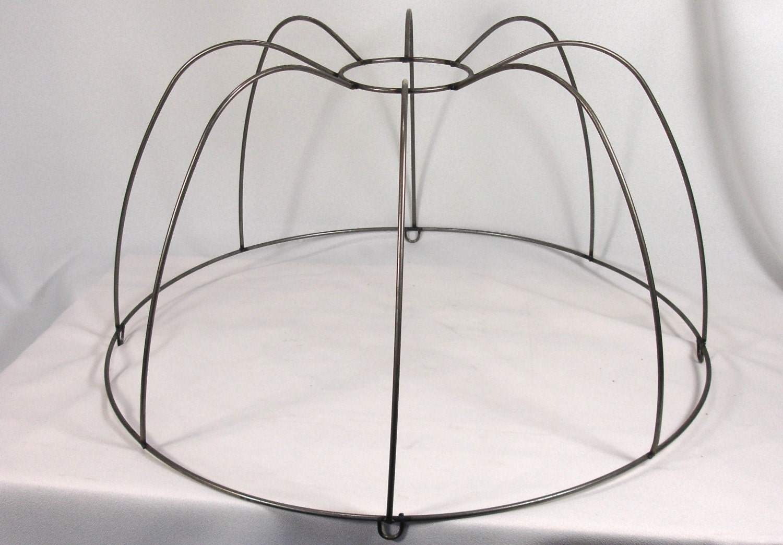 lamp shade frame large for pendant custom lampshade hand made. Black Bedroom Furniture Sets. Home Design Ideas