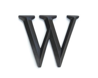 "Letter ""W"" Sign - Large Letter W Wall Decor - Gallery Wall Decor - Photo Prop - Wedding Gift SIW70"