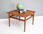 Mobel Fakta Danish Style Side Table for Glostrup Mobelfabrik