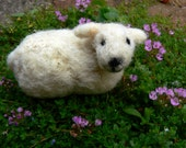 needle felt Northumbrian sheep - READY TO SHIP