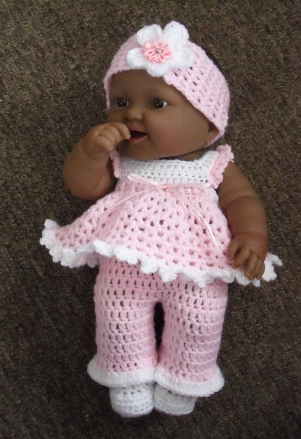 Bonito Free Knitting Patterns For 14 Inch Doll Clothes Composición ...