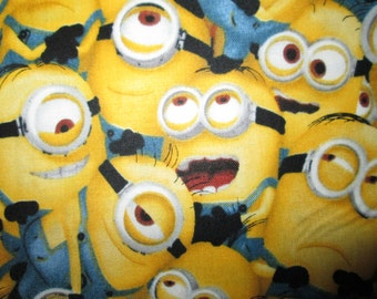 Minion Packed Minions Despicable Me Cotton Fabric Fat Quarter or Custom Listing