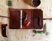 Signature Pipe & Tobacco Pouch - 1-2 pipes Made in USA
