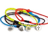 SALTI Spirit Collection ~ nautical rope bracelet with symbol charm FREE Shipping