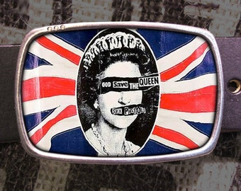 Sex Pistols Belt Buckle, Punk Buckle 558 (307)