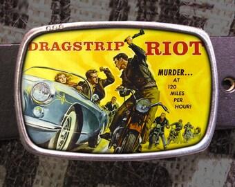 Dragstrip Riot Belt Buckle 725
