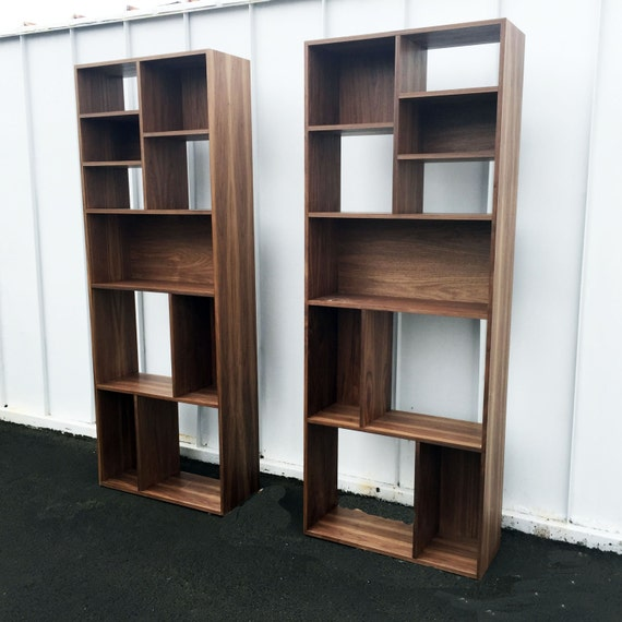 Mid century modern bookcase by PMIstudios on Etsy