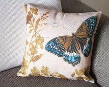 Popular Items For Butterfly Pillow On Etsy