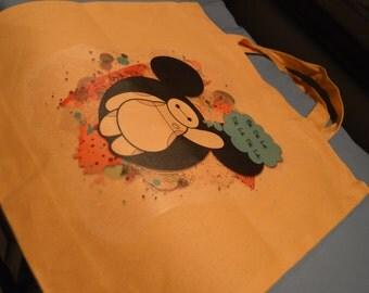 Disney Image Designed Tote Bag