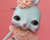 Tokissi rabbit doll / bunny / Blue  / Jewelry / gift