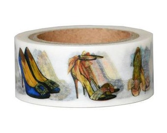 High heels shoes Washi Tape (20mm X 7M)