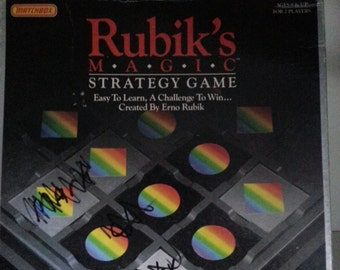 1987 Rubik's Magic Strategy game