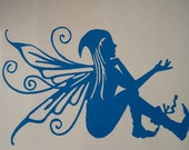 Tarra Pyksys Pixie Faerie Sticker For Camper Caravan Car