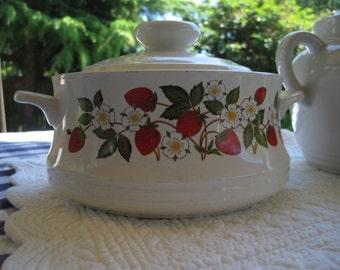 Strawberries n Cream Casserole, Strawberries and Cream, Sheffield