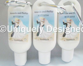 Bridesmaids Gifts - Personalized Bridesmaids Gifts - Bridesmaids- Wedding ideas--Wedding sunblock- Wedding favors