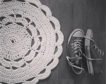 Little Crochet Doily Rug PDF Pattern