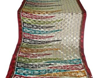 Used Sari ,Dress  Making fabric sarong drape Sari