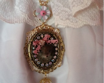 Madame Mouse Necklace