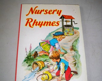 """Vintage """"Nursery Rhymes"""" Children's Book"""