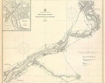Delaware River 1920