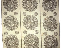 RARE ethnic embroidered peasant textile - linen folk art from Kalotaszeg Hungarian minority in Romania | traditional very old handcraft