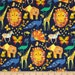 85079-  Michael Miller  Origami Oasis collection pride in navy color  -  1/2 yard