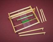 miniature weaving loom 1 inch scale