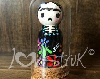 Frida Glass Dome Mini Doll