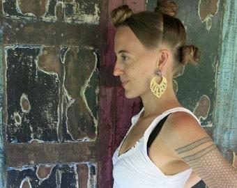 Maya Brass Earring