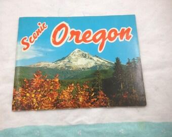 Vintage Scenic Oregon booklet