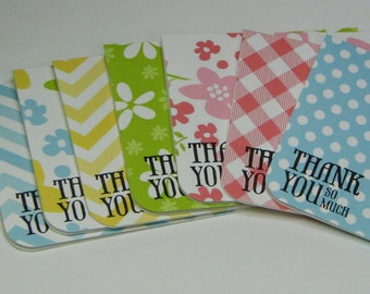 Bursting With Summer Mini Thank You Note Card and Envelope Set