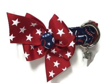 Patriotic Celebration Dog Collar size Large