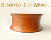 Teak Salad Bowl - Vintage Wooden Bowl - Mid Century Danish Modern Teak