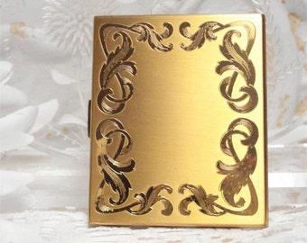 Elgin American Compact Gold Tone