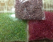 Garden Colored Seed Bead Collection #25
