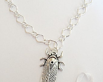 Scarab Beetle Necklace - Lucky Beetle Pendant - Scarab Necklace - Egyptian Jewelry - Scarab Jewelry - Good Luck - Gift For Her