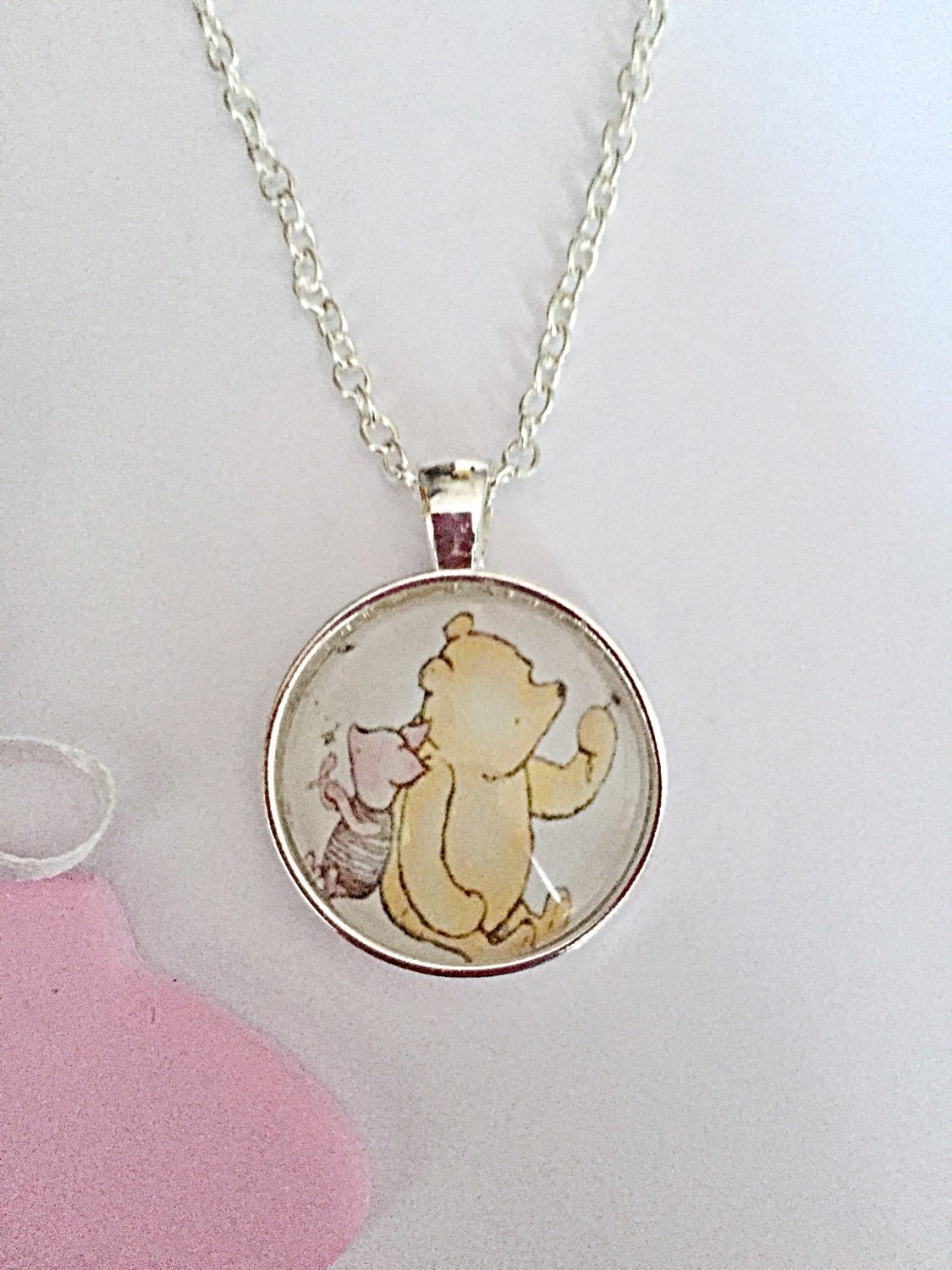 winnie the pooh necklace classic winnie necklace pooh bear