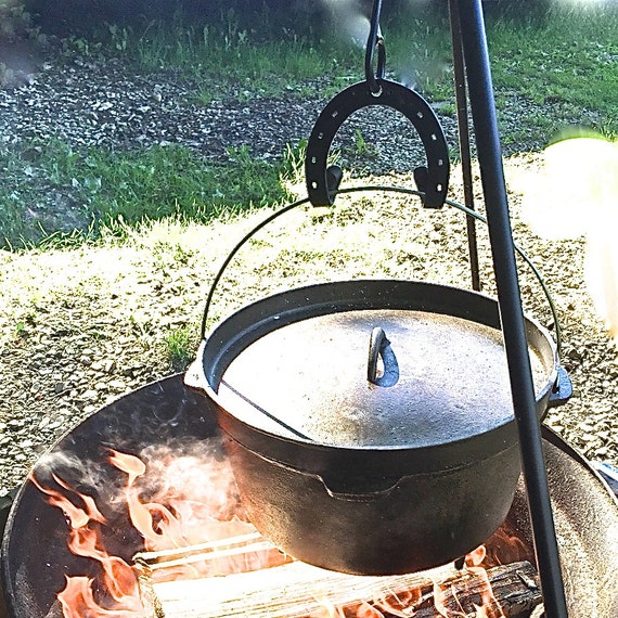Campfire Cooking Tripod Campfire Tripod Hook Double