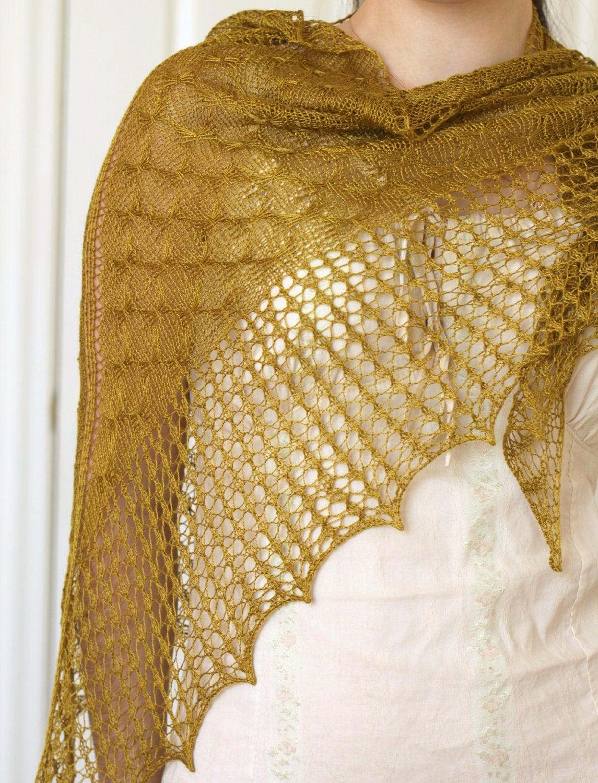 Knitting Pattern Example : Knitting pattern knit shawl pattern knitting tutorial lace