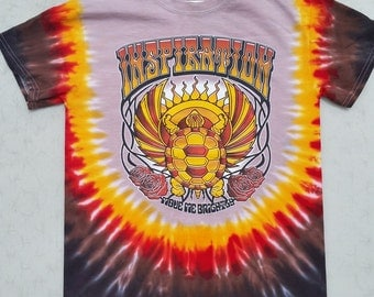 Terrapin Station tie-dyed tee shirt - Grateful Dead and Company CO / Jerry Garcia inspired - Ratdog, hippie, 420, lsd, lot, shakedown